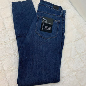 NWT Paige Margot Ankle Super High Rise Skinny.27